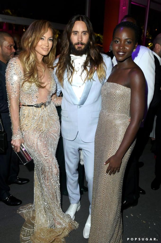 Jennifer Lopez, Jared Leto, and Lupita Nyong'o