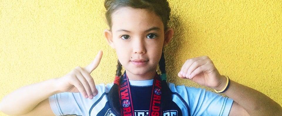 This 12-Year-Old Jujitsu Champ Is Smashing Gender Stereotypes
