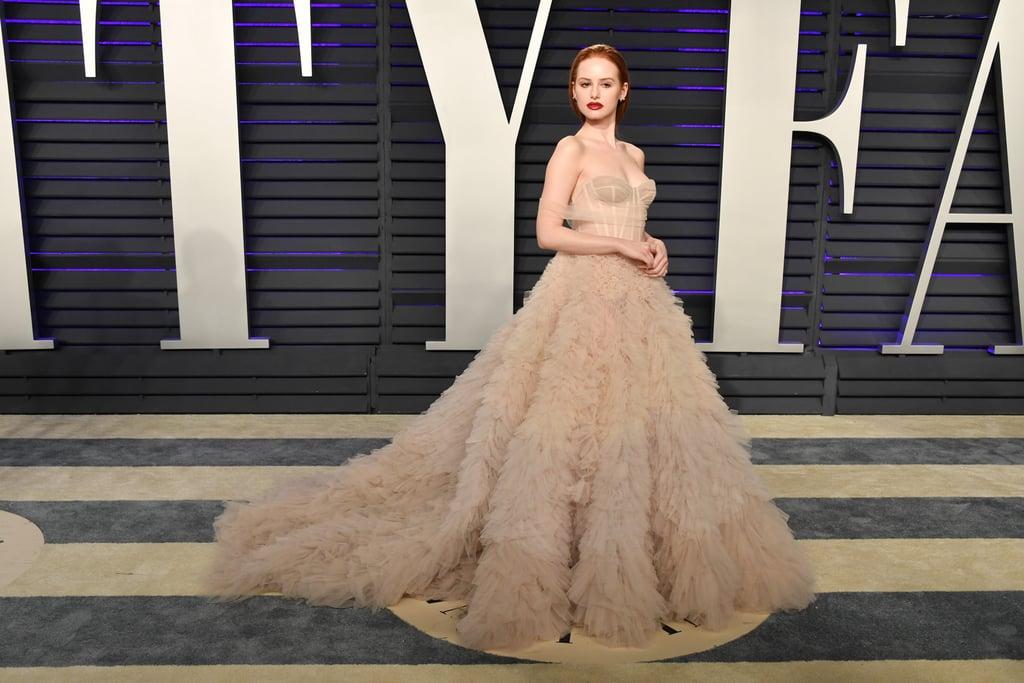 Madelaine Petsch at the 2019 Vanity Fair Oscar Party