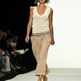 Gisele Bündchen on the Marc Jacobs Runway at New York Fashion Week Spring 2004