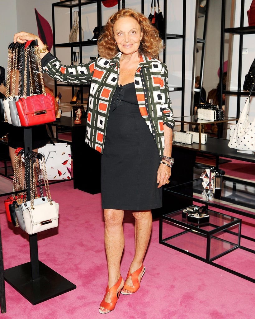 Diane von Furstenberg hosted an event to honor Natalie Joos and Tales of Endearment at her New York boutique.