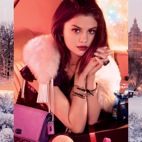 Selena Gomez's Coach Holiday Campaign