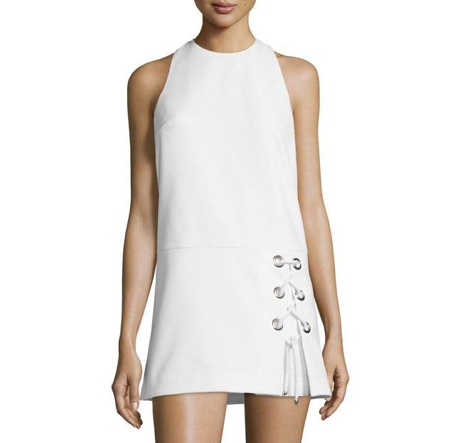 Rebecca Minkoff 'Silva' Sleeveless Lace-Up Dress ($378)
