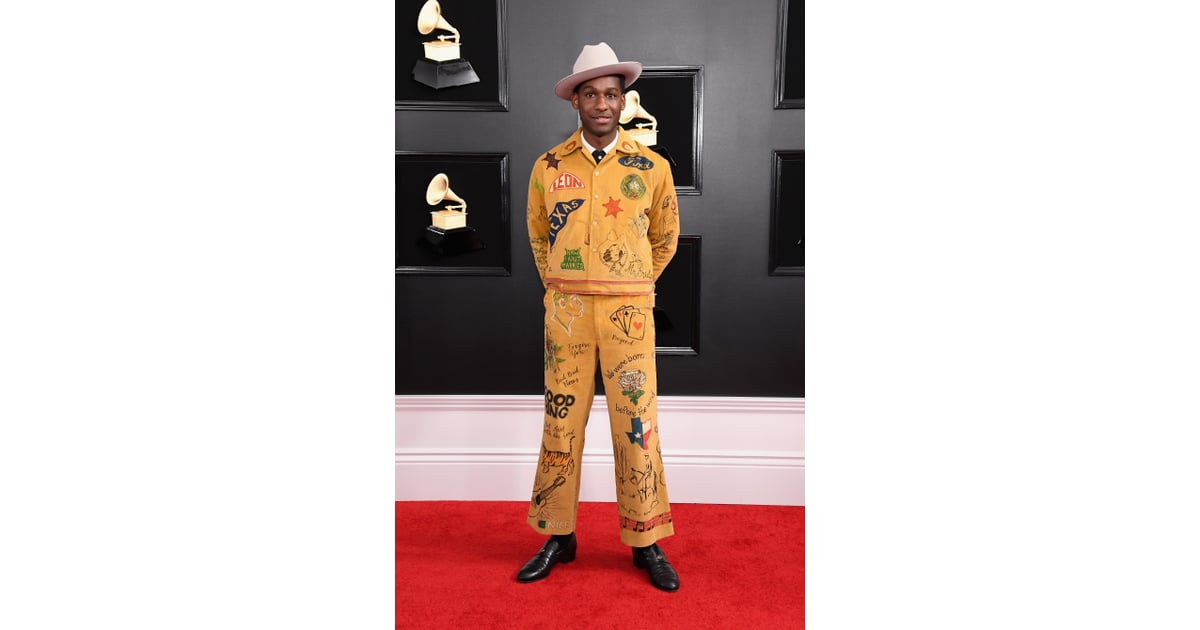Grammys 2019 Australia: Leon Bridges At The 2019 Grammy Awards