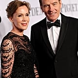 Bryan Cranston and Robin Dearden smiled for the cameras.