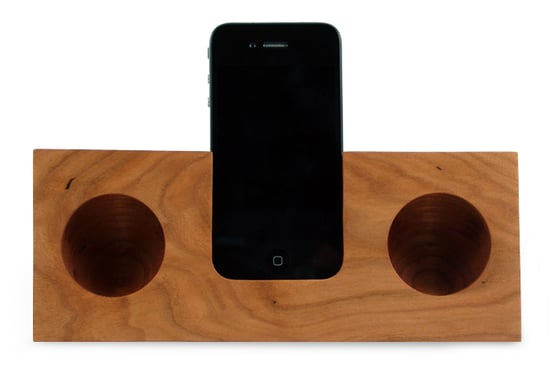 Koostik Handmade Wooden iPhone Dock
