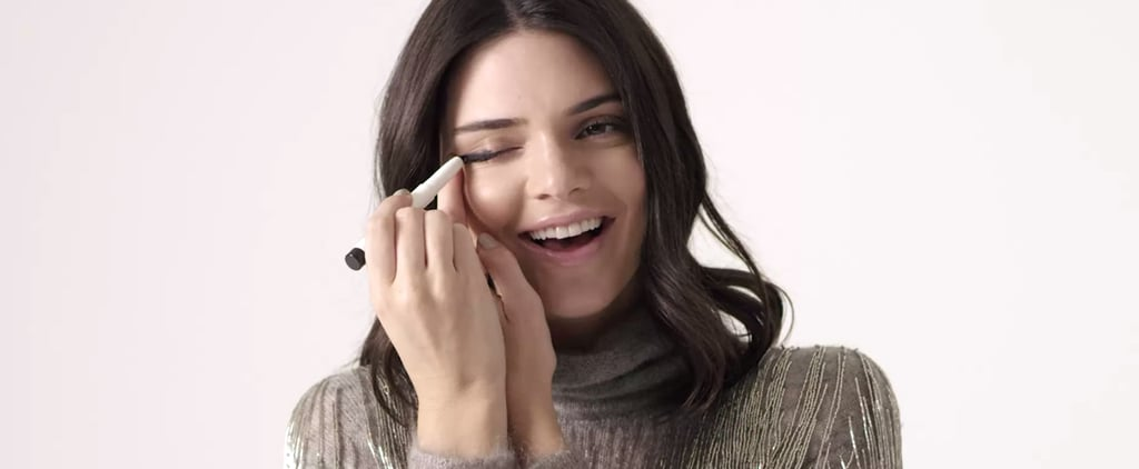 Kendall Jenner Tries the No-Mirror Makeup Challenge, Fails Adorably