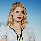 Lucy Boynton at the Deauville US Film Festival