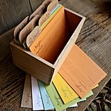 Letterpress Cards and Box