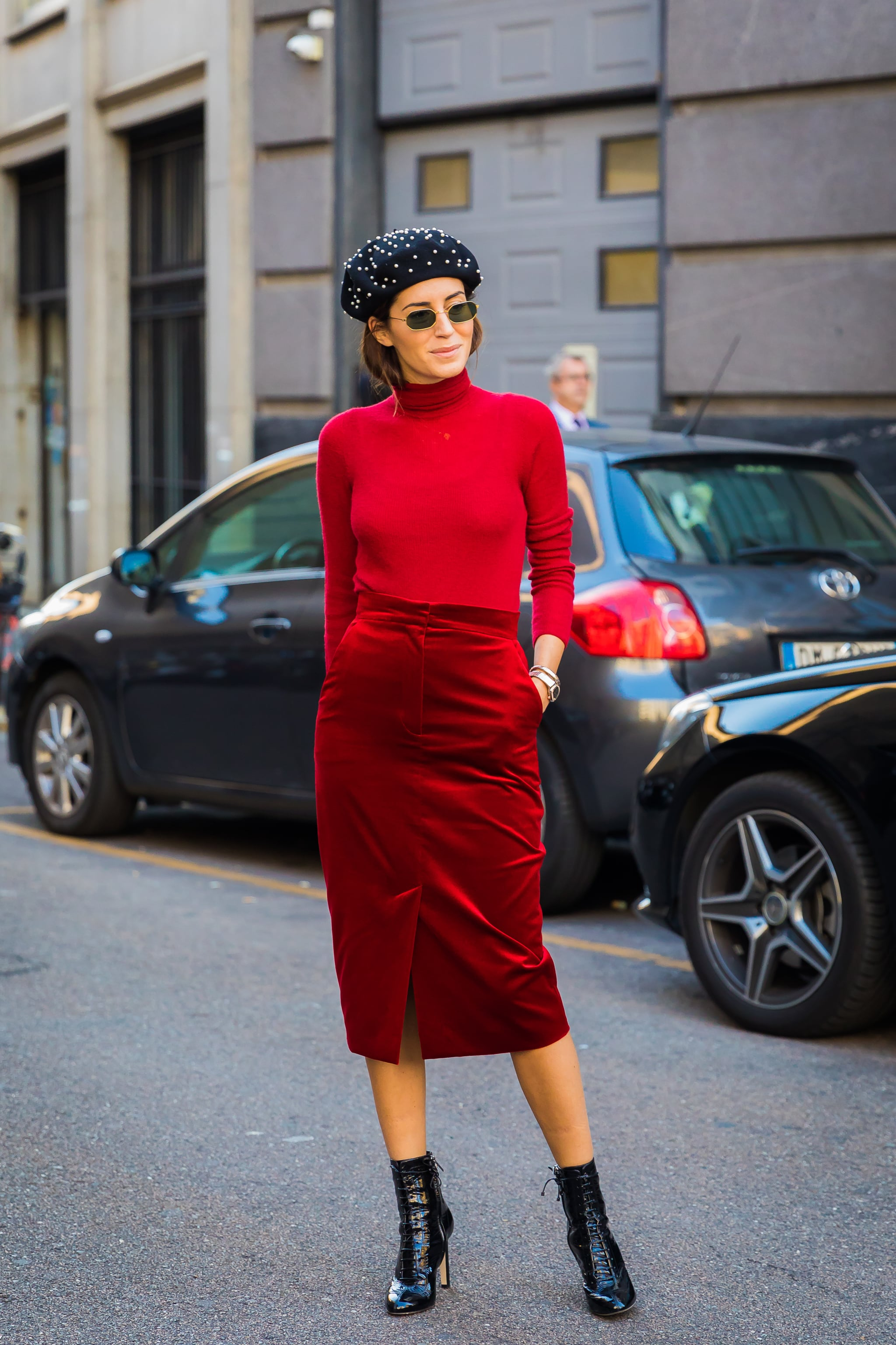 Red Outfit Inspiration Popsugar Fashion