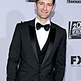 Matthew Morrison at the Golden Globes.