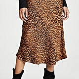 Re:Named Leopard Slip Skirt