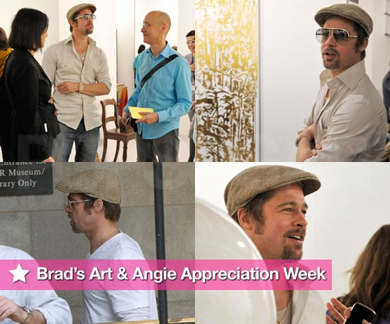 Brad Has an Art and Angie Appreciation Week