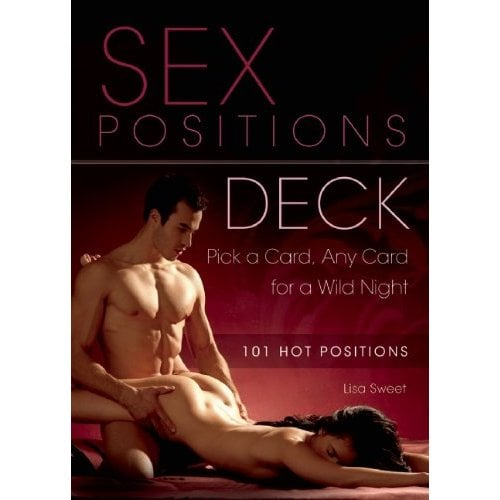 Sex position playing card deck necessary words