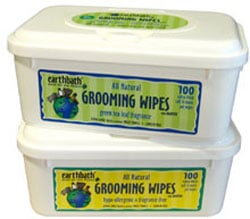 Earthbath Grooming Wipes - Good for Your Pets, Good For the Planet