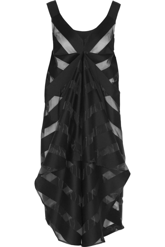 Avant-garde dressers can slip into this arresting Zero + Maria Cornejo LBD ($1,195) for their next wedding.