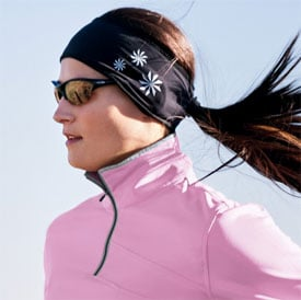 Get Your Butt in Gear: Base Miles Headband