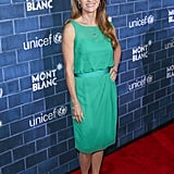 Jane Seymour looked great in green.
