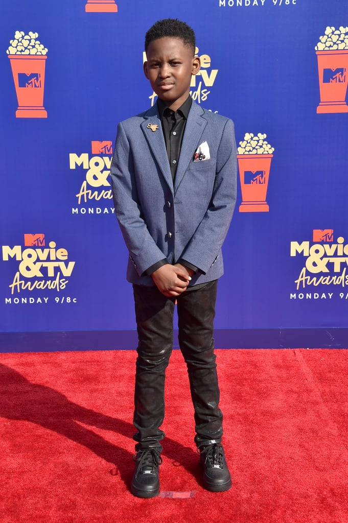 Evan Alex at the 2019 MTV Movie and TV Awards