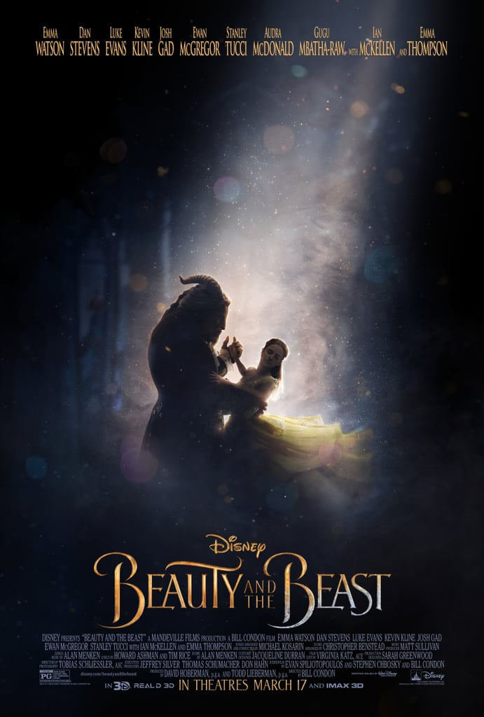 beauty and the beast 2017 movie posters popsugar