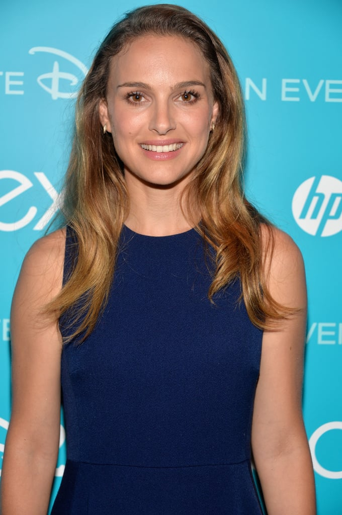 Natalie Portman attended Disney's D23 Expo in LA on Saturday.