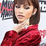 Zendaya's Contoured Eye Shadow at the iHeartRadio Music Awards in 2016