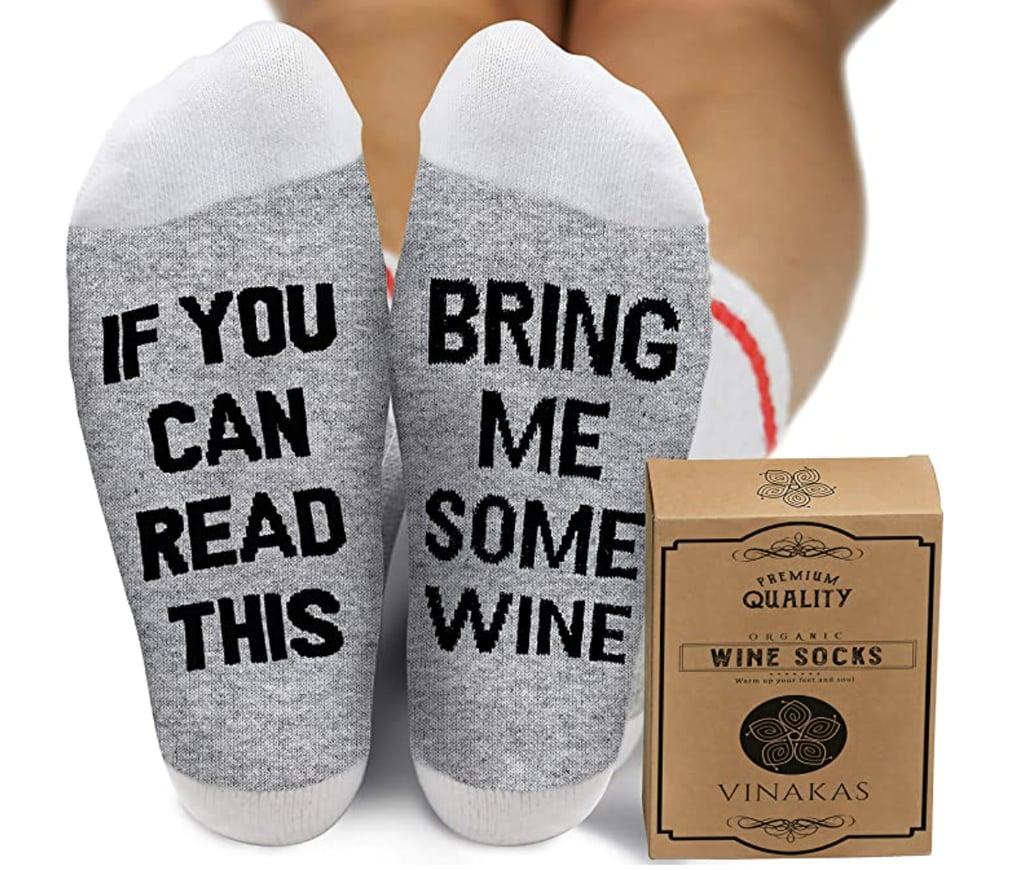 Comfort Cotton Wine Socks