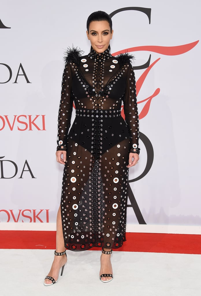 You'll Want to Take a Closer Look at Kim Kardashian's CFDA Look