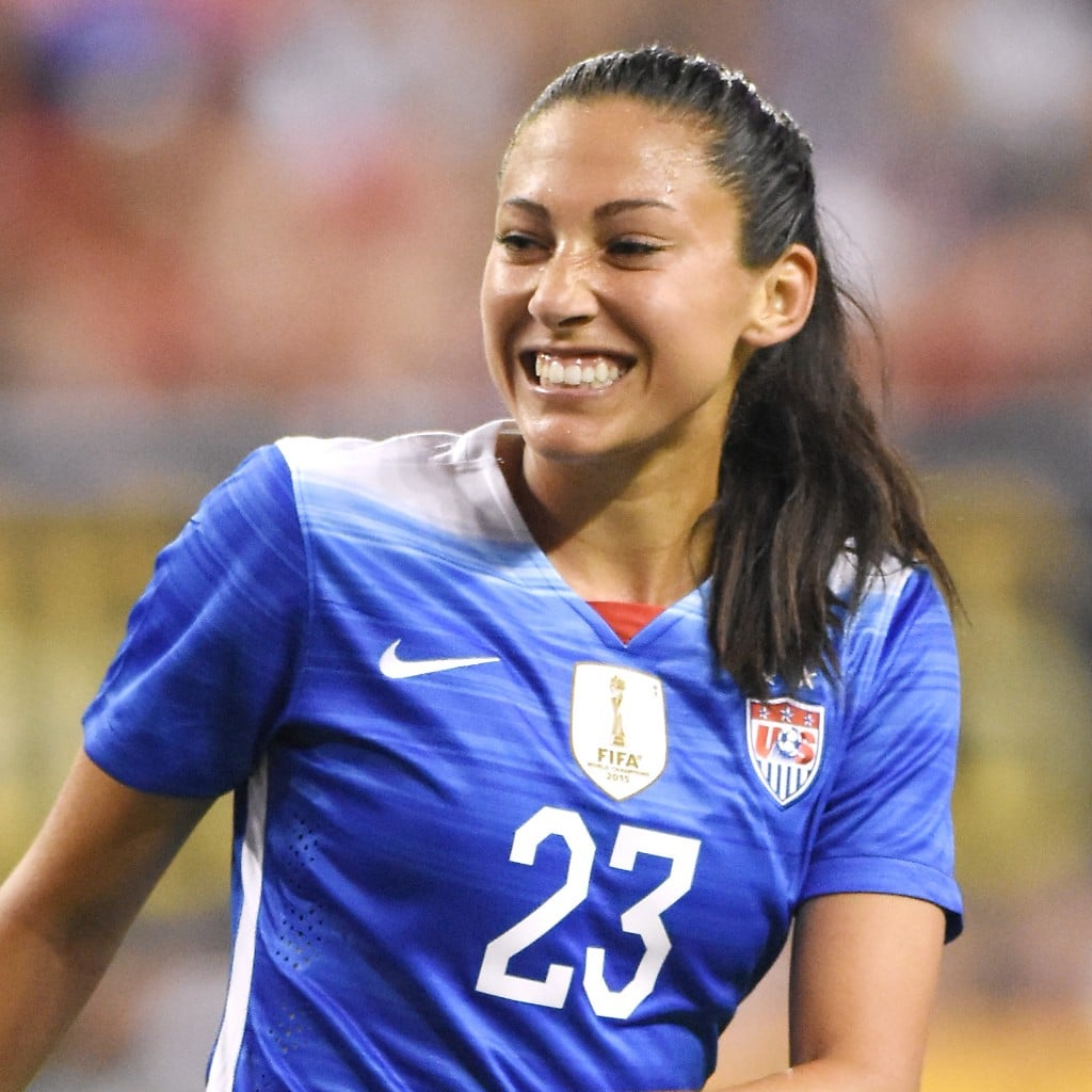 How Soccer Player Christen Press Handles Stress | POPSUGAR