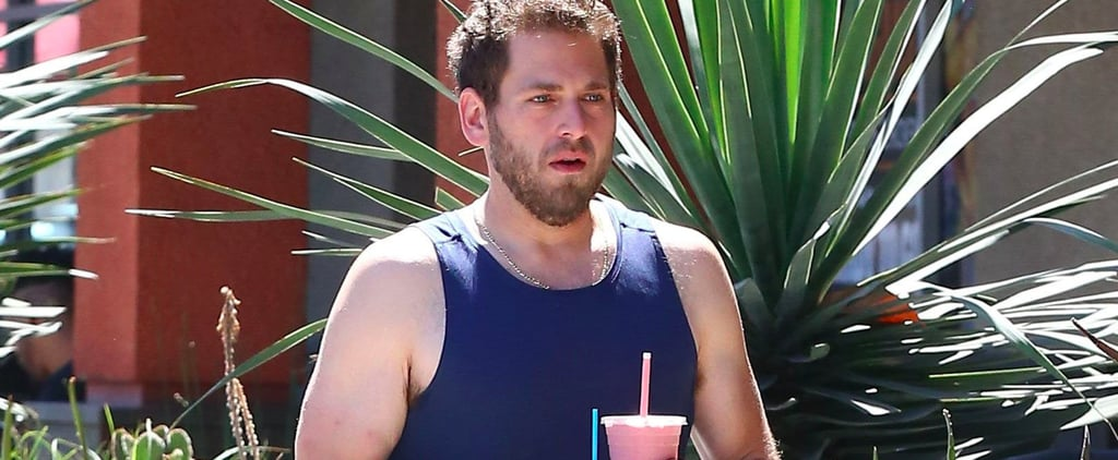 Jonah Hill Wearing a Tank Top in LA June 2017