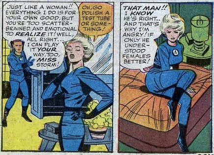 Women: always too scatter-brained and emotional!