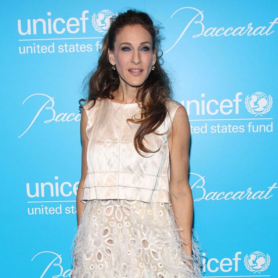 Sarah Jessica Parker UNICEF Snowflake Ball Pictures