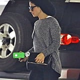 Sandra Bullock ran errands in LA on Tuesday.