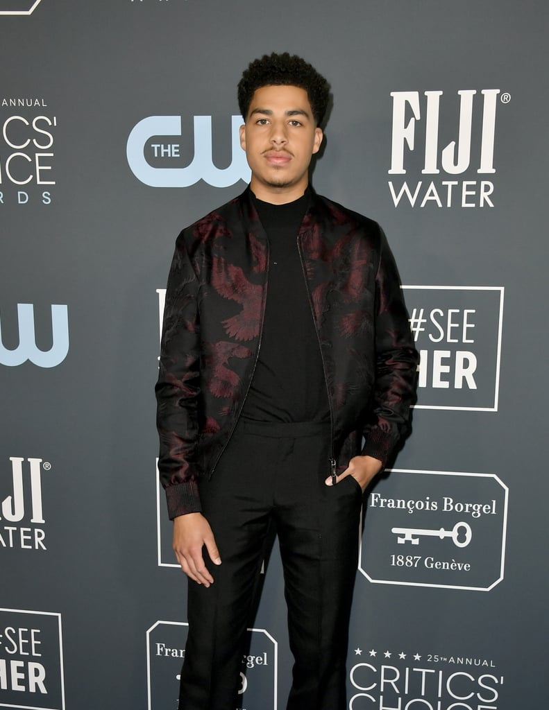 Marcus Scribner at the 2020 Critics' Choice Awards