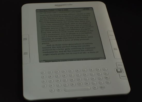 Daily Tech: It's Official, Amazon's Kindle 2 Coming Feb. 24