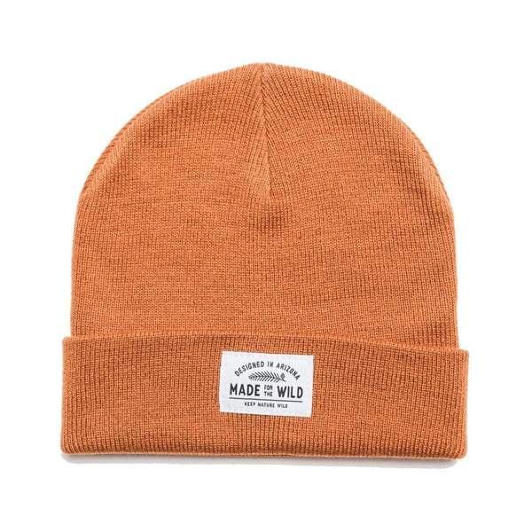 Made for the Wild Beanie in Autumn Orange