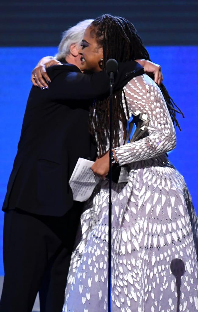 Robert De Niro and Ava DuVernay at the 2020 Critics' Choice Awards