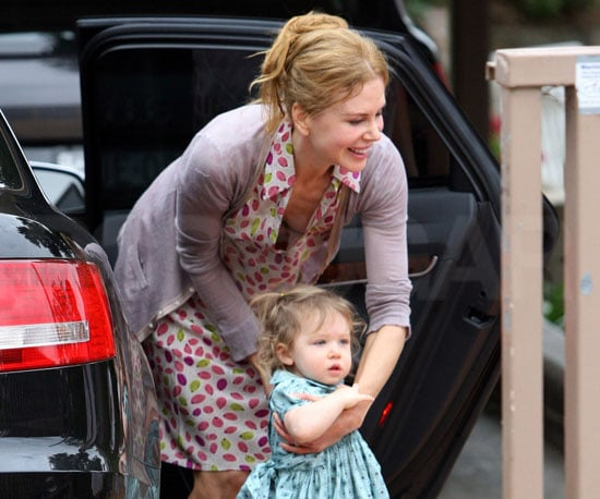 Slide Photo of Nicole Kidman and Sunday Rose in Sydney