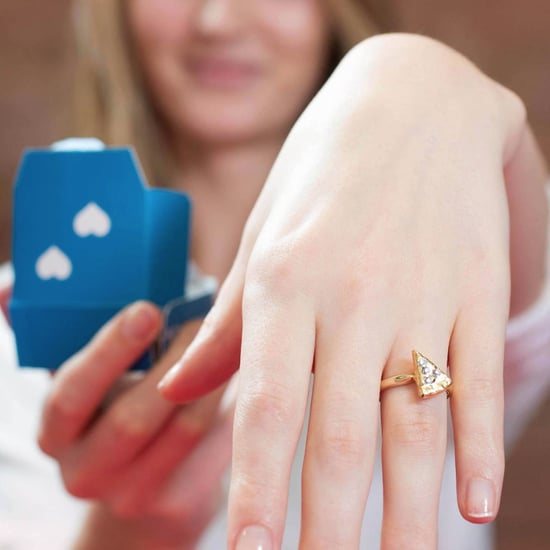 Domino's Pizza Engagement Ring