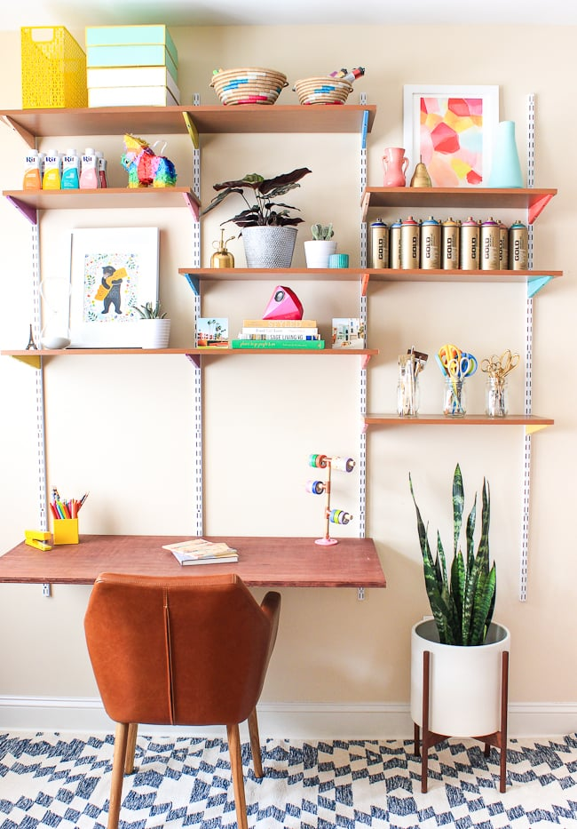 Floating Wall Unit | Ikea Desk Hacks | POPSUGAR Home Photo 2
