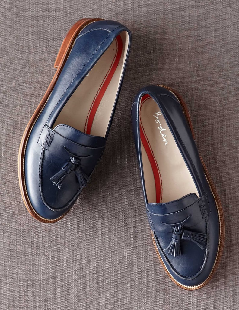 These tassel loafers ($148) are just one reason we fell for Boden's contemporary twist on the classics. The British clothier also nabbed style-savvy Zanna Roberts Rassi as ambassador, which means you may want to familiarize yourself with the rest of its polished, peppy staples.  — HW