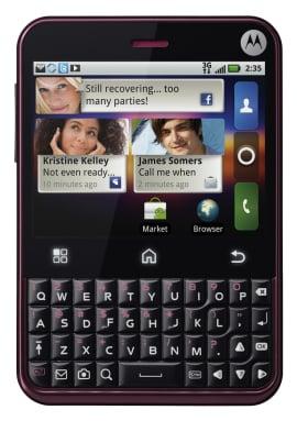 Motorola Charm Details