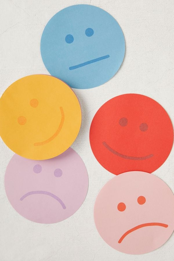 Ban.do Smiley Note Pad
