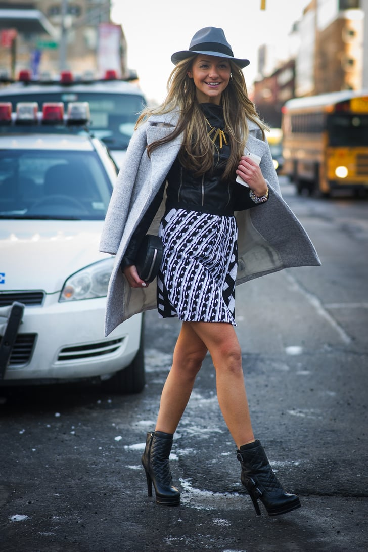 Nyfw Street Style Day 2 Best Street Style At New York Fashion Week Fall 2014 Popsugar