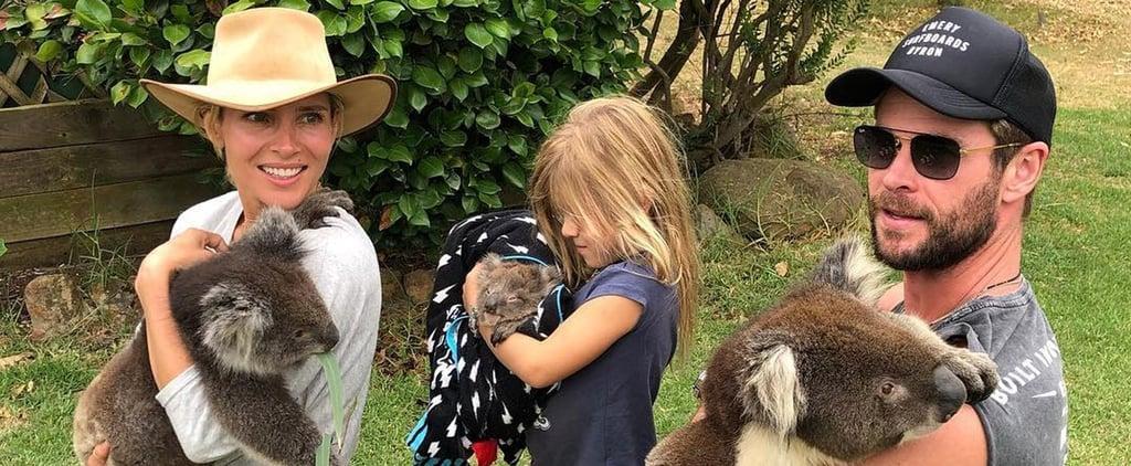 Chris Hemsworth Talking About Speaking Spanish to His Kids