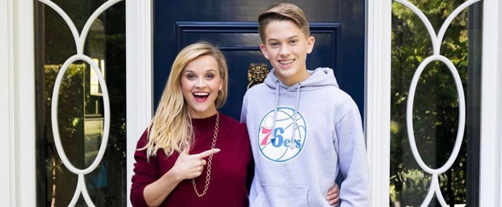Reese Witherspoon's Birthday Message For Her Son Deacon 2018