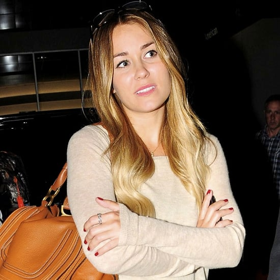Lauren Conrad Landing at LAX in Skinny Jeans Pictures