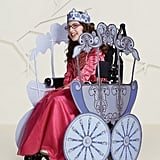 Girls' Adaptive Princess Carriage Halloween Costume Wheelchair Cover