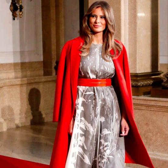 Melania Trump Poland and Germany Style 2017