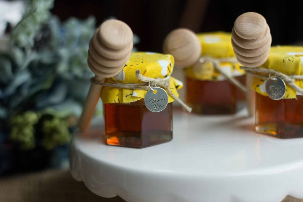 Mini Honey Jars With Drippers ($45 for a set of 12)